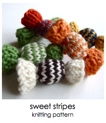 click for sweet stripes pattern
